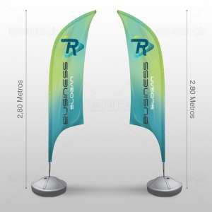 MD Comunicacao Wind Banner Frente e Verso bh